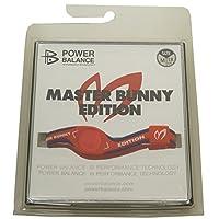 パワーバランス Power Balance ラウンド小物 シリコンブレスレット レッド M
