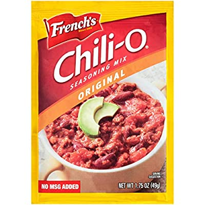 Tone French's Chili-O Original Spices, 1.75-Ounce Packages (Pack of 18)