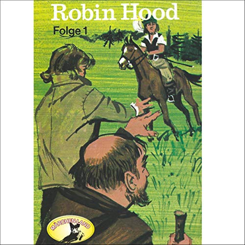 Robin Hood 1 audiobook cover art