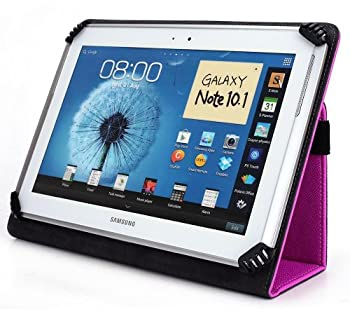 iNOVA EX756 7 Inch Tablet Case UniGrip Edition - HOT PINK - By Cush Cases