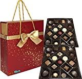 Belgian Luxury Chocolates 36 Piezas - 520 Gr. En Caja y Bolsa Regalo.