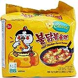 SAMYANG Halal Cheese HOT Chicken Flavour Ramen ( 5X @140g )