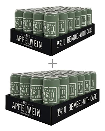 BEMBEL WITH CARE Apfelwein-Schorle (48 x 500 ml)