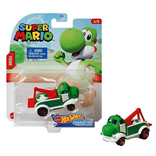 Hot Wheels Coche de Super Mario - Yoshi