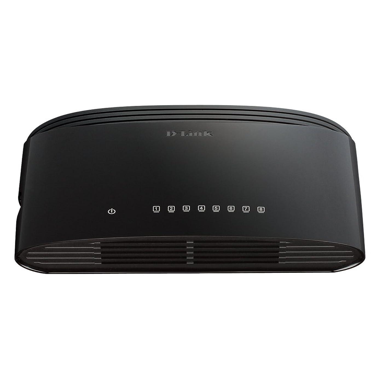 D-Link 8-Port Gigabit 16 Gbps Desktop Switch (DGS-1008G)