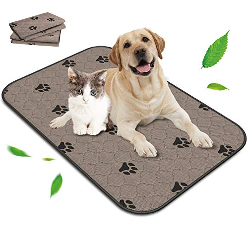 DRIVIM Washable Pee Pads for Dogs Extra Large, Reusable Puppy Potty Mats for Pet Training, Whelping, Housebreaking, Incontinence, Travel, Playpen, Crate   Fast Absorption   Waterproof   39.4