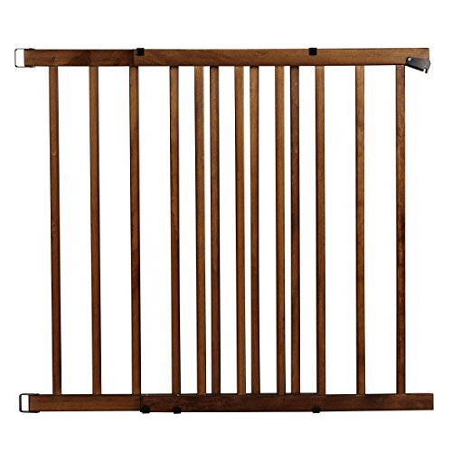Evenflo Walk-Thru Top Of Stairs Baby Gate (Farmhouse Collection)