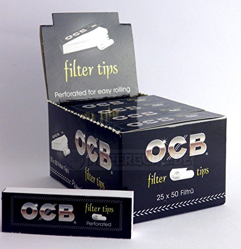 OCB Filter Tips Perforiert Slim Filtertips 3 Boxen (75 Booklets)