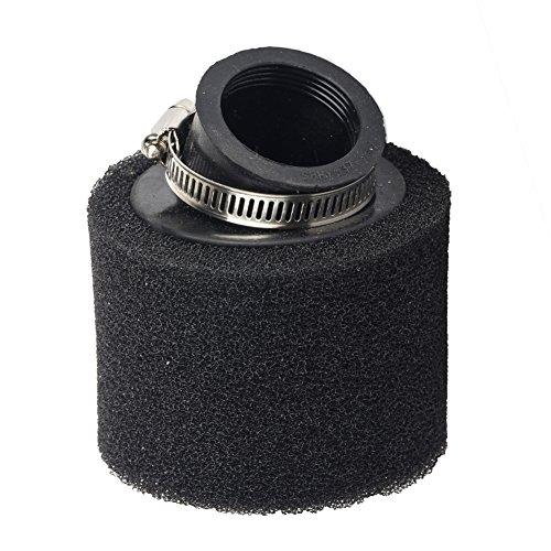 Beehive Filter - Filtro de aire de 38 mm y ángulo de 45 grados. Filtro con doble capa de espuma para motos de dirt bike, pit bike y quads con motores de 4 tiempos de 90 cc, 110 cc, 125 cc, 140 cc