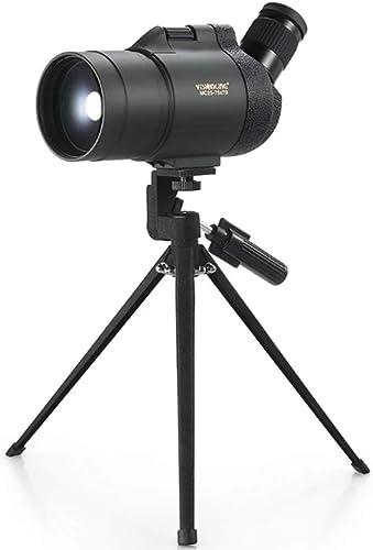 YONG FEI 25-75X70 Zoom rétroviseur monoculaire télescope Miroir rétroviseur extérieur Haute définition Télescope monoculaire