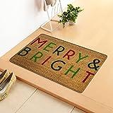 HUALAI Christmas Decorations Carpet Doorstep Carpet Tapestry...