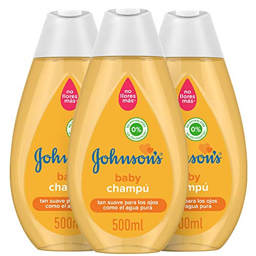 Johnson's Baby, Shampoo - 3 x 500 ml