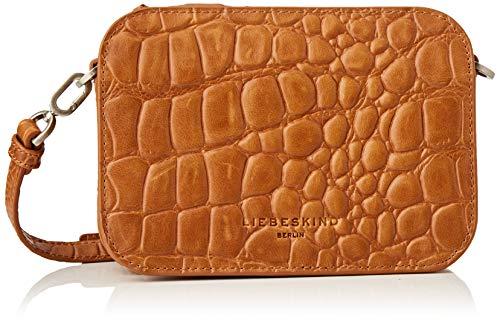 Liebeskind Berlin 008-LukaC20-NOOSCr-golden, Bolso Bandolera para Mujer, Golden Amber, 20.5x14.5x7 cm