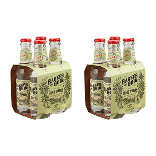 Barker & Quin Premium Marula Tonic 8 x 200ml / rein natürlich / Südafrika, toller Begleiter zu Gin / handwerklich hergestellt / (Einweg Flaschen Preis incl. 2,00 € / 8 x 0,25€ DPG Einwegpfand)