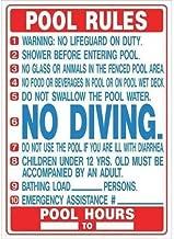 florida pool rules sign