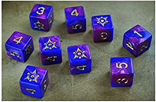 Elder Dice The Sigil of The Dreamlands d6 Dice Set
