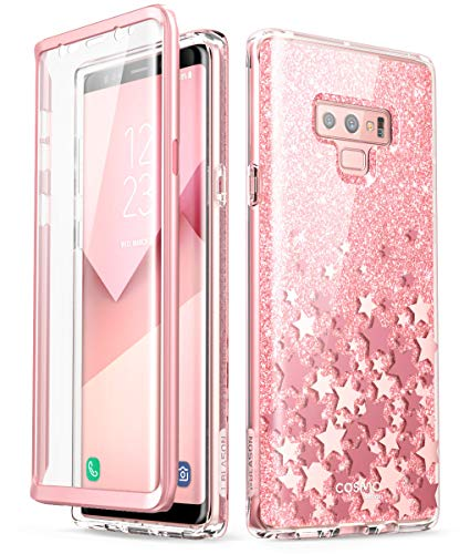 i-Blason Cosmo Full-Body Bumper Protective Case for Galaxy Note 9 2018 Release, Pink