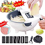 Vegetable Slicer Cutter - VAESIDA Vegetable Chopper Multi...