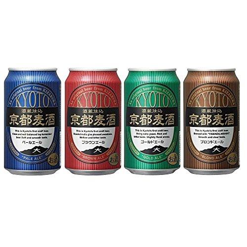 黄桜 京都麦酒 4缶アソートセット 350ml×4本×6セット