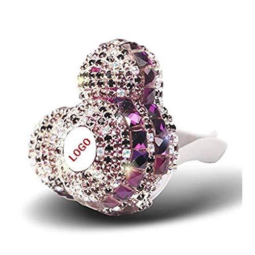 LPQSY Auto Lufterfrischer Duft Diamant Auto Vent Air Outlet Fragrant Perfume Clip Lufterfrischer Diffusor Klimaanlage Outlet Clip Dekoration Lady Perfumes (Farbe : for AU-DI)