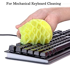 Cleaning Gel Universal Dust Cleaner for Keyboard Cleaning Car Detailing Office Electronics Cleaning Kits Dust Remove Gel…