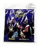Disney Villains High Heel Shoes Booster Pin Set by Disney
