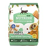 Rachael Ray Nutrish Indoor Complete Premium Natural Dry Cat Food, Chicken with Lentils & Salmon Recipe, 14 Pounds
