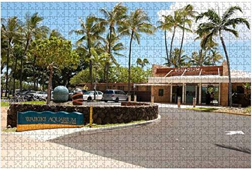 Royal Hawaiian Hotel Honolulu Hawaii 1000 piezas Rompecabezas para adultos Juguete educativo para adultos Niños Gran juego de rompecabezas Juguetes Regalo-PUZZLE6