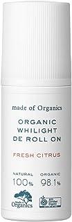 メイド・オブ・オーガニクス(made of Organics) ホワイライトデオドラントロールオン フレッシュシトラス 美容液 50ml