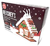 Create-A-Treat E-Z Hershey s Gingerbread House Kit, 14.25 oz, Value Pack of 2 Full Kits