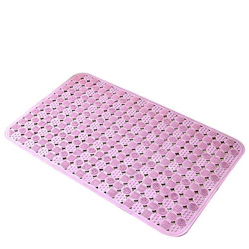 TPR Milieuvriendelijk materiaal met zuignap smaakloze superzachte badkamer badmat badkamer vloermat (27,9 * 13,7