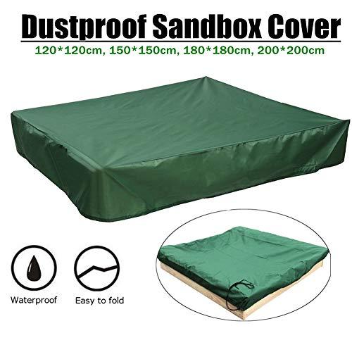 Zandbak beschermhoes met trekkoord Waterdichte Zandbak Zwembad Cover voor Kinderen 150x150cm