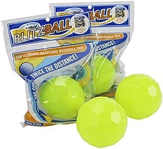 Blitzball Plastic Baseball (4 Pack)