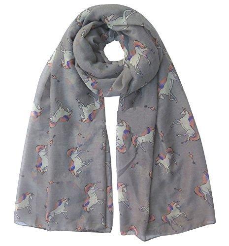 Wereld van Sjaals Vrouwen Sjaal Paarden Print Ontwerp Dames Sjaals Sjaal Wikkel Maxi Sjaal Sarong