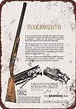 SIGNCHAT 1962 - Señal de Metal de escopetas superpuestas (20 x 30 cm)