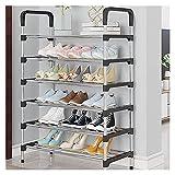 FEIYIYANG Zapatero Rack de Zapatos Multi-Capa Super Amplia Capacidad Simple Hogar Special Ahorro Económico Ocho Capa Diez Capa Zapato de Bambú Zapateros