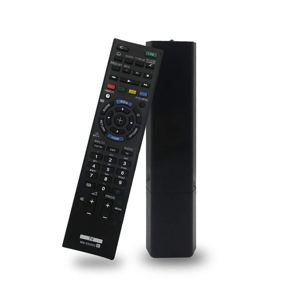 Reemplazo RM-ED053 Mando a Distancia Universal para Sony Bravia televisión Smart TV Control Remoto RM-ED052 RM-ED050 RM-ED047 RM-YD103 RM-ED046 RM-ED044.: Amazon.es: Electrónica