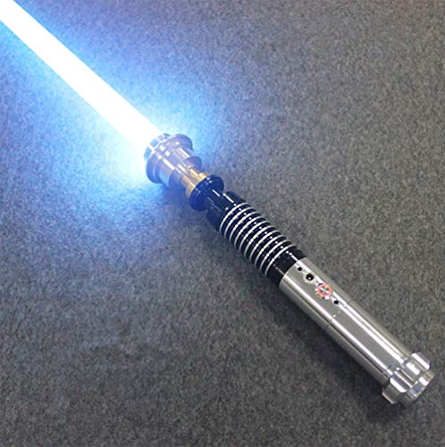 BoMan Lightsaber Metal Hilt Single Color FOC Blaster Wholesale Lightsaber Sable de luz de Duelo Skywalker, Regalo para niños y Adultos