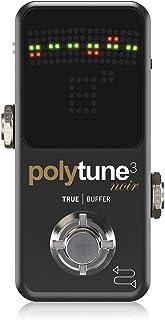TC POLYTUNE 3 NOIR Polytune 3, Sintonizador de pedal para guitarra, Negro