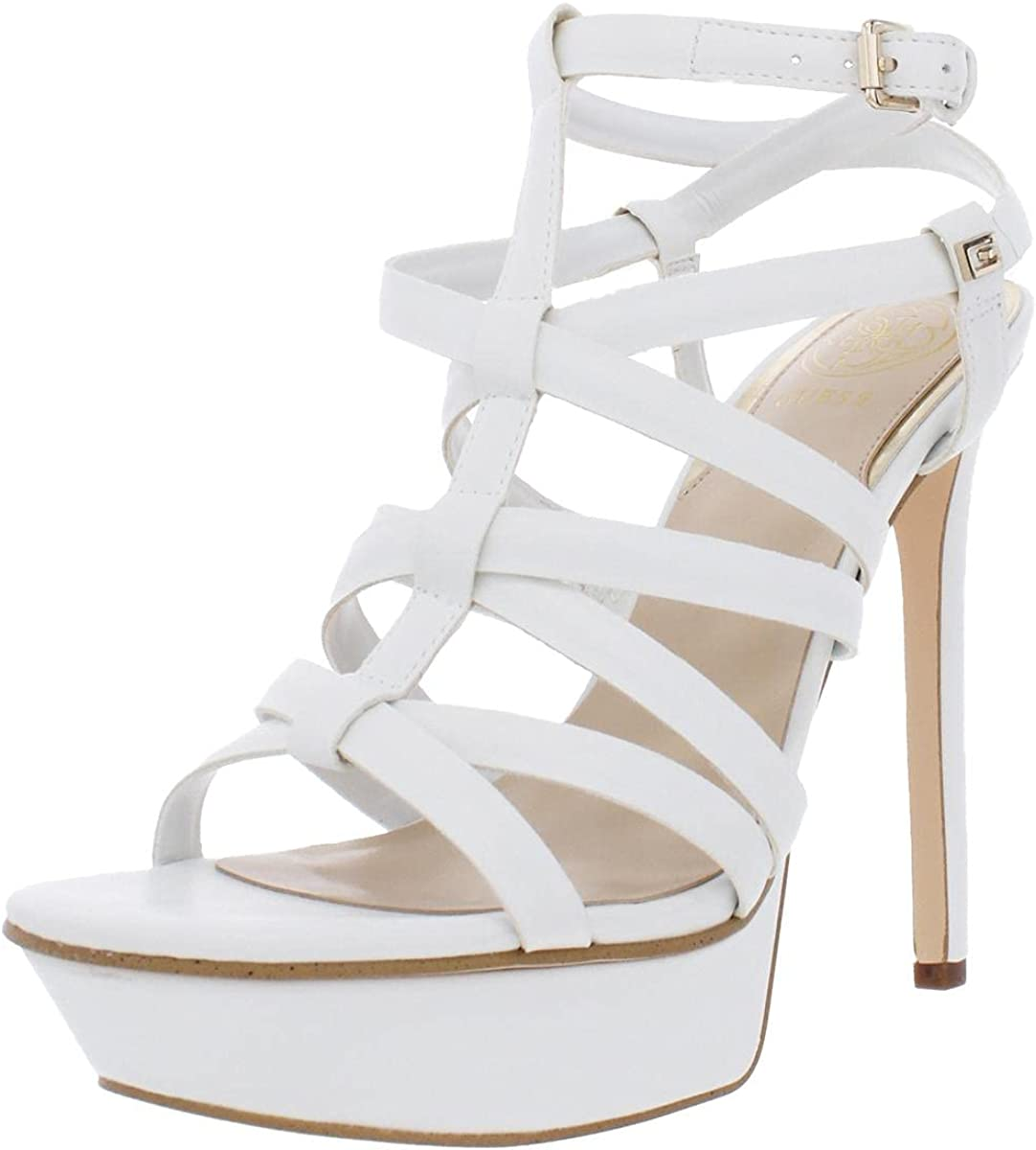 GUESS Max 61% OFF Women's Eleri Sandal Heeled Atlanta Mall