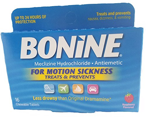 Price comparison product image Bonine Motion Sickness Tablets,  16 tablets Boxe (Pack of 6)