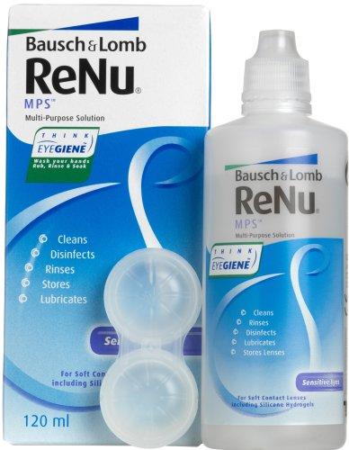 Bausch & Lomb ReNu MPS solución multiuso para lentes de contacto–120ml