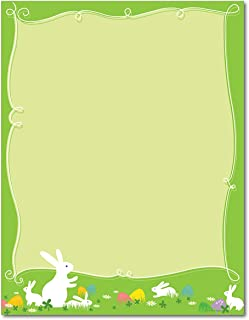 Hippity Hop Easter Stationery Paper - 80 Sheets