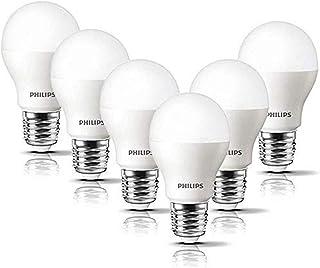 Philips LED Lampe ersetzt 60W, E27, A60, 6-er Pack, warmweiß (2700 Kelvin), 806 Lumen, matt