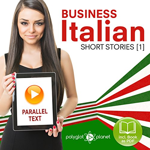 Business Italian - Parallel Text - Short Stories (Italian - English) cover art