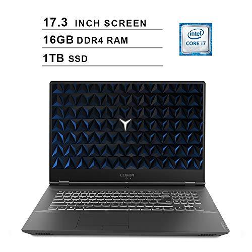 Lenovo 2020 Legion Y540 17.3 Inch FHD IPS Gaming Laptop (9th Gen Intel 6-Core i7-9750H up to 4.5 GHz, 16GB RAM, 1TB PCIe SSD, Nvidia GeForce GTX 1660 Ti, Bluetooth, WiFi, HDMI, Windows 10)