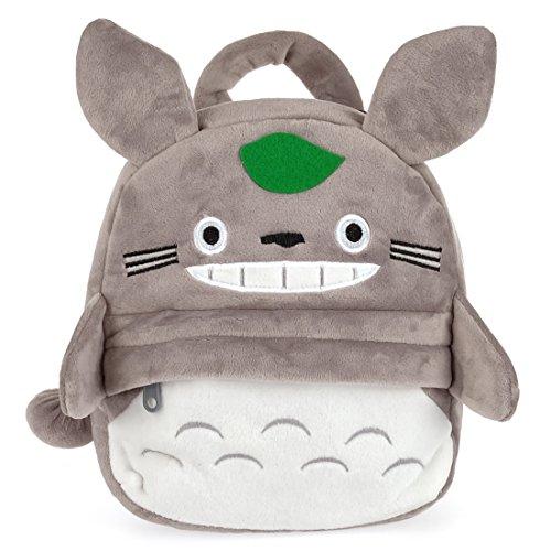 CoolChange Kinder Rucksack für kleine Totoro Fans aus weichem Plüsch