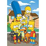 GBGMN 5D DIY Diamond Wall Painting Simpsons Sticker Picture