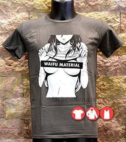 Waifu Senpai Makaya Manga Comic T-Shirt Homme Hentai