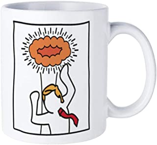 Keith Haring for Trump Fun 15-ounce coffee mug: unique ceramic for any occasion, for men and women who like cups and coffee cups